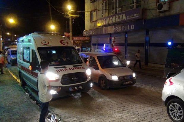 Şırnak'ta terör saldırısı