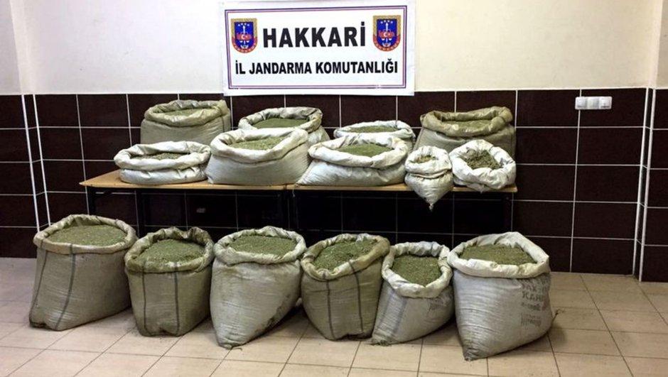 Hakkari PKK Uyuşturucu