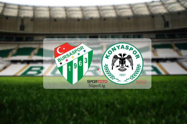 Bursaspor-Konyaspor