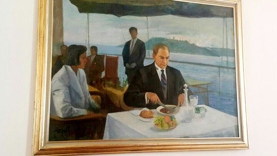 Atatürk tablosu, meclis