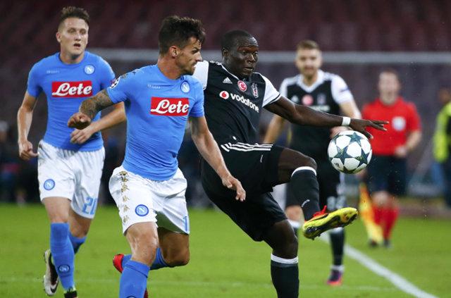 Beşiktaş'ta şok üstüne şok! Napoli maçında 5 isim yok