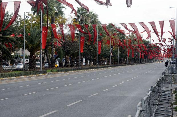 İstanbul Cumhuriyet Bayramı Kutlamaları trafiğe kapalı yollar