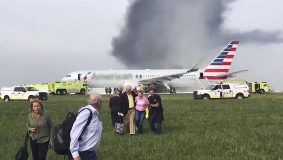 ABD Chicago   Boeing 767 yangın