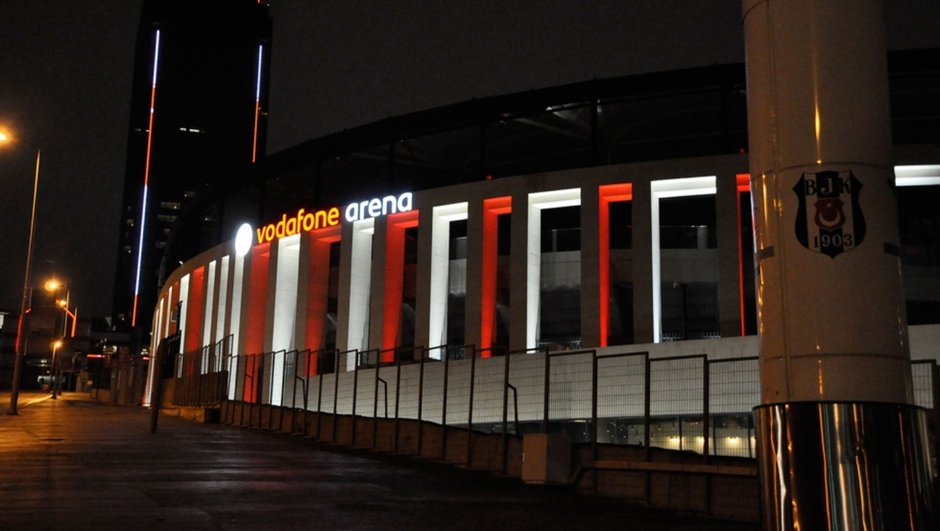 Vodafone Arena Beşiktaş Cumhuriyet Bayramı