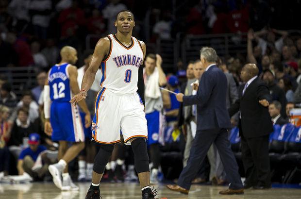 Oklahoma City Thunder Russell Westbrook NBA