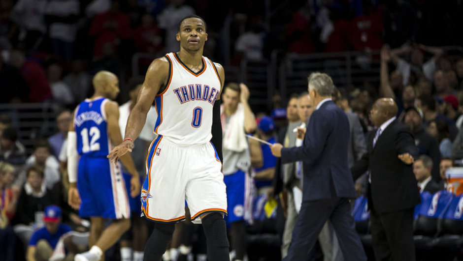 Oklahoma City Thunder Russell Westbrook NBA