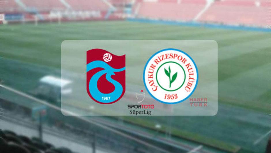 Trabzonspor-Çaykur Rizespor