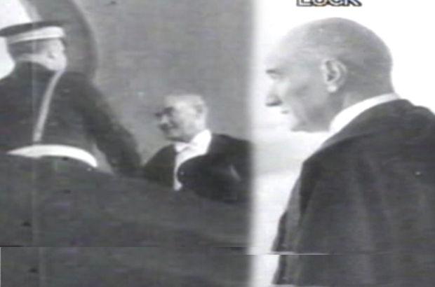 Atatürk'ün katıldığı Cumhuriyet bayramı görüntüleri yayınlandı