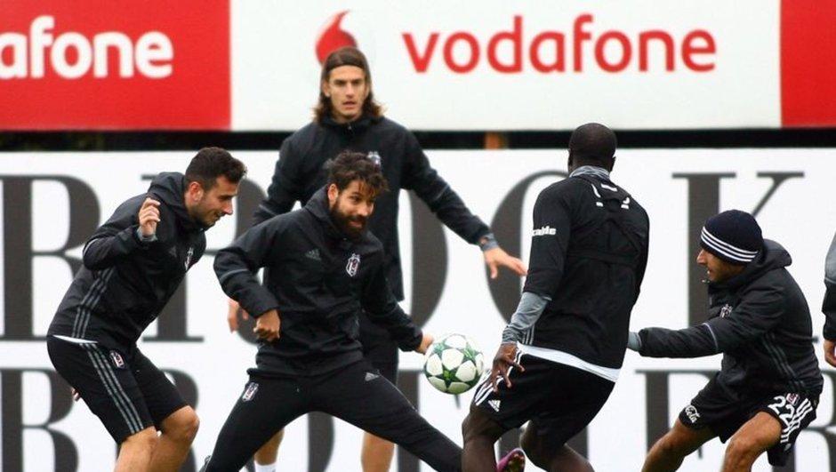Beşiktaş Napoli antrenman