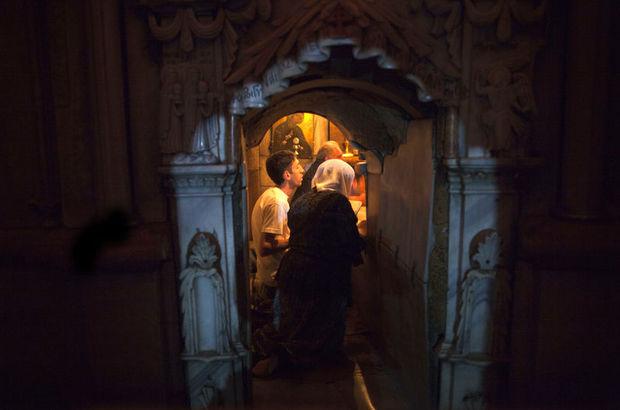 isanın mezarı açılıyor