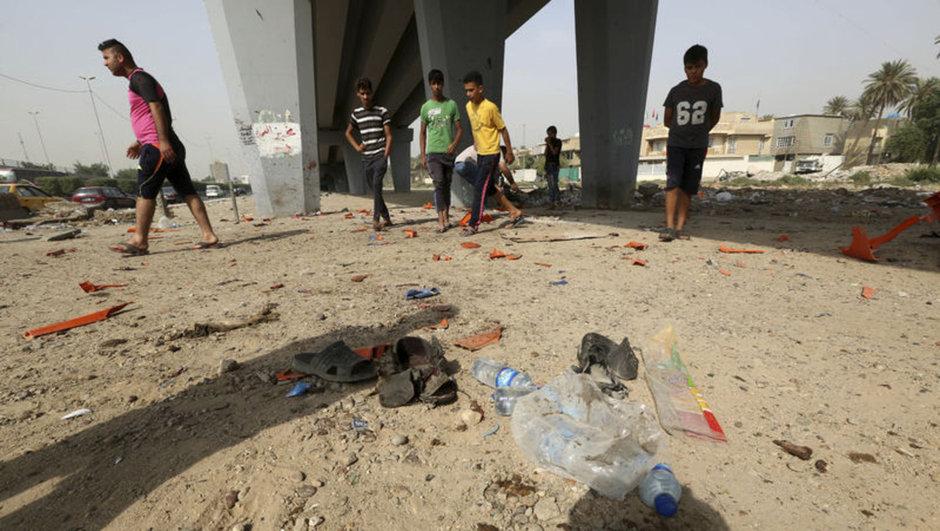 bağdat intihar saldırısı