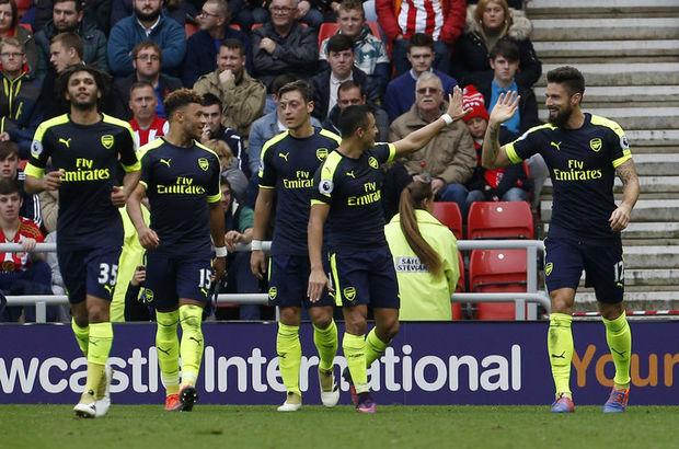 Sunderland: 1 - Arsenal: 4