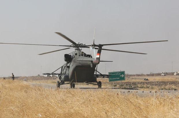 Irak askeri helikopter
