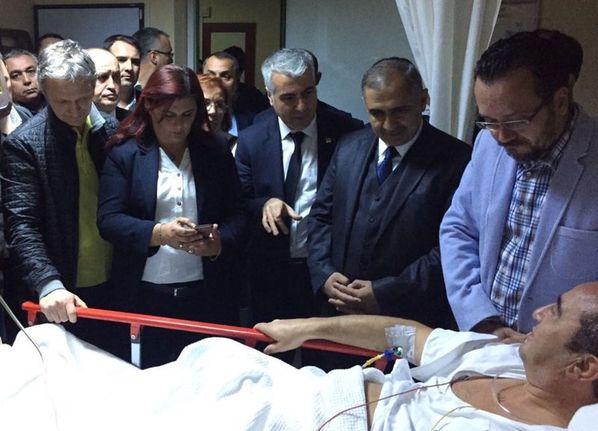 Bülent Tezcan'a silahlı saldırı ile ilgili görsel sonucu