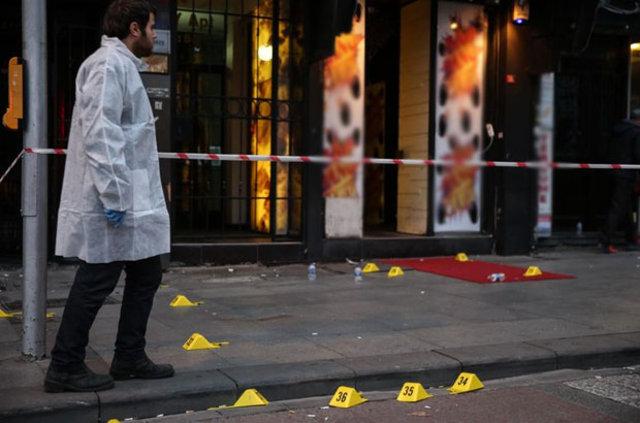 Şişli'de silahlı çatışma! 1 kişi öldü, 1'i ağır 6 yaralı!