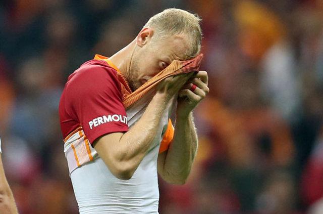 Galatasaray'da mutlak golü önleyen Semih Kaya: O pozisyondan sonra hala terliyorum