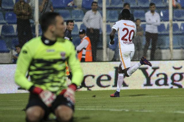 Galatasaray'da Bruma, deplasmanda en çok gol atan futbolcu