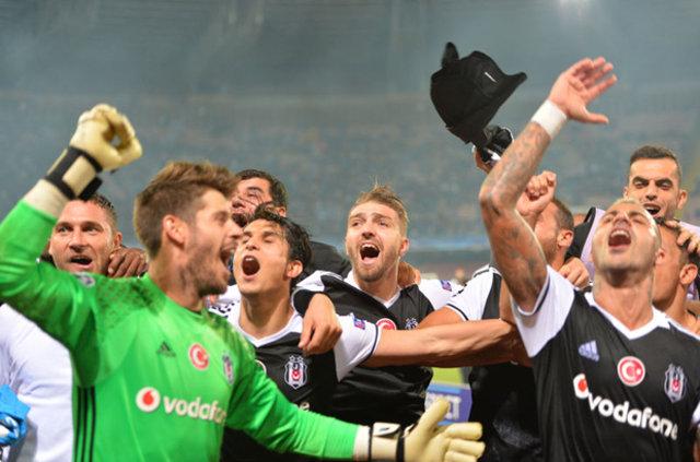 Beşiktaş'ın Napoli 11'i...