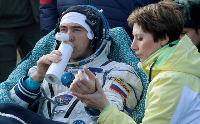 Soyuz kapsülü Dünya'ya döndü