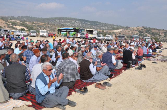 Mersin'de köylülerden yağmur duası
