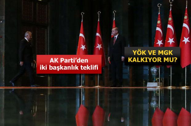 AK Parti'nin başkanlık sistemi için yol haritası belli oldu
