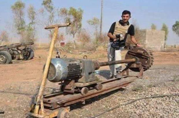 DEAŞ'ın tünel kazma makinesi ele geçirildi