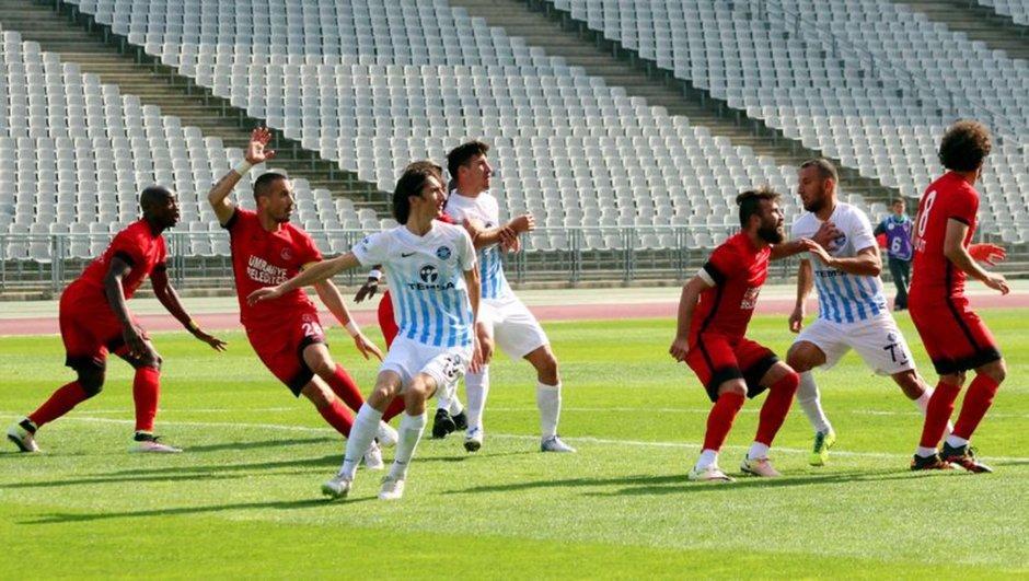 Ümraniyespor: 1 - Adana Demirspor: 1