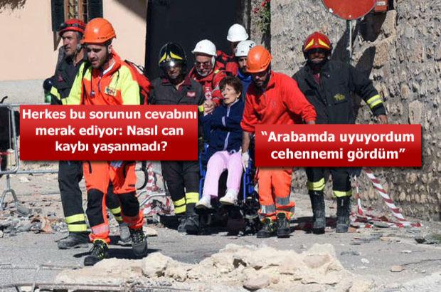 SON DAKİKA! İtalya'da 6,5 büyüklüğünde deprem!