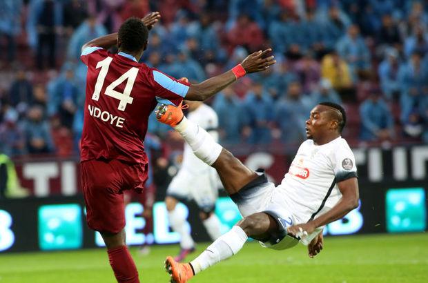 Trabzonspor: 2 - Çaykur Rizespor: 2 maç özeti
