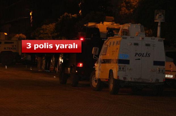 Mardin Kızıltepe'de AK Parti ilçe binasına saldırı