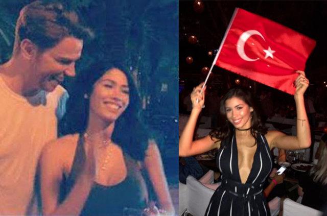 Sinan Akçıl, Justin Bieber'ın eski sevgilisiyle aşk yaşıyor!