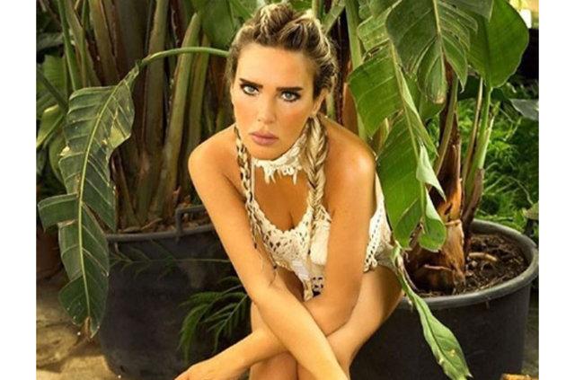 Seren Serengil'den Aleyna Tilki'ye destek