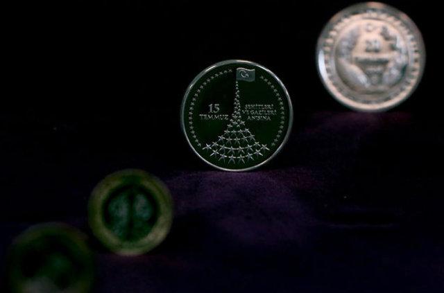 15 Temmuz şehit ve gazileri için hatıra para basıldı