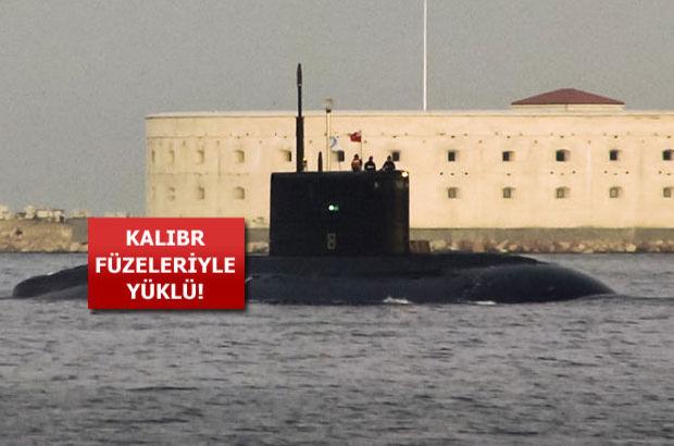 rus denizaltıları akdenizde