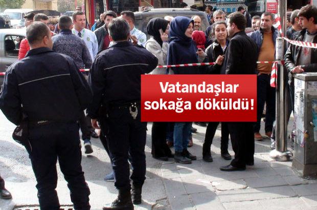 Aksaray'da 5 katlı işhanındaki sallantı paniğe neden oldu