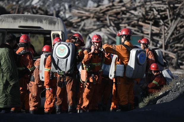 Kömür madeninde patlama: 33 işçi mahsur!