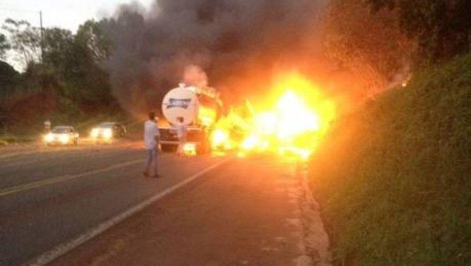 Brezilya trafik kazası