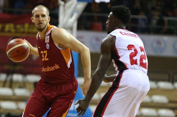 Gaziantep Basketbol: 72 - Galatasaray Odeabank: 79