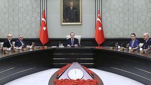 Bakanlar Kurulu Cumhurbaşkanı Erdoğan başkanlığında toplandı