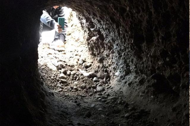 Diyarbakır'da patlayıcı yüklemek için açılan tünel bulundu!