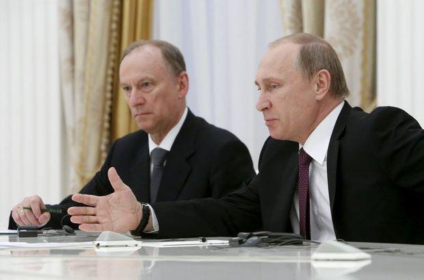 rusya güvenlik konseyi sekreteri Nikolay Patruşev