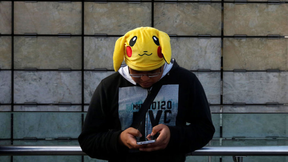 pokemon go trafik kazası