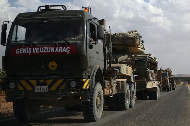 Turkish military dispatches tanks near to Iraqi border