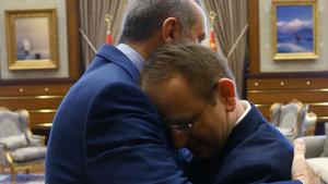 Cumhurbaşkanı Erdoğan, 15 Temmuz gazisi Sabri Ünal'ı kabul etti