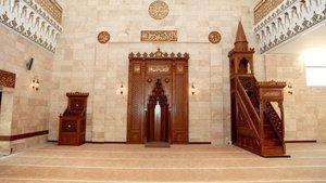 Sovyetlerin yıktığı camiyi Türkiye yeniden inşa etti