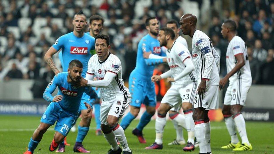Beşiktaş: 1 - Napoli: 1 | maç sonucu