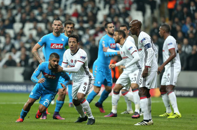 Beşiktaş - Napoli maçı İtalyan basınında...