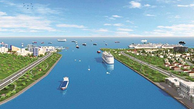 Araplara Kanal İstanbul teklifi