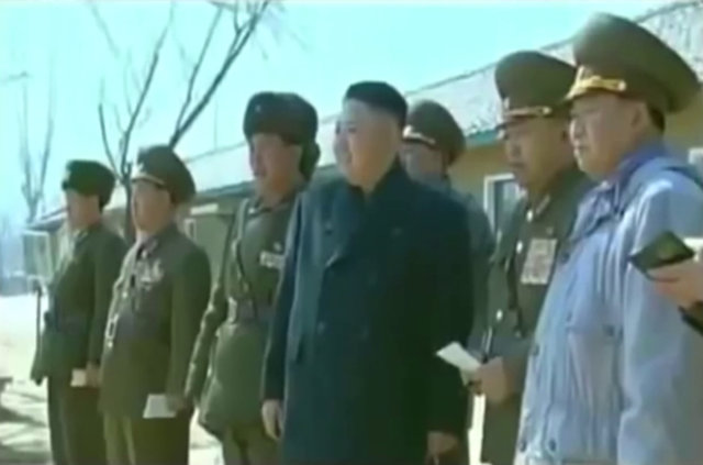 Kuzey Kore ordusundan sıra dışı askeri eğitim