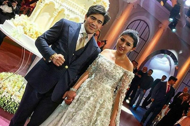 Madina Shokirov evlendi